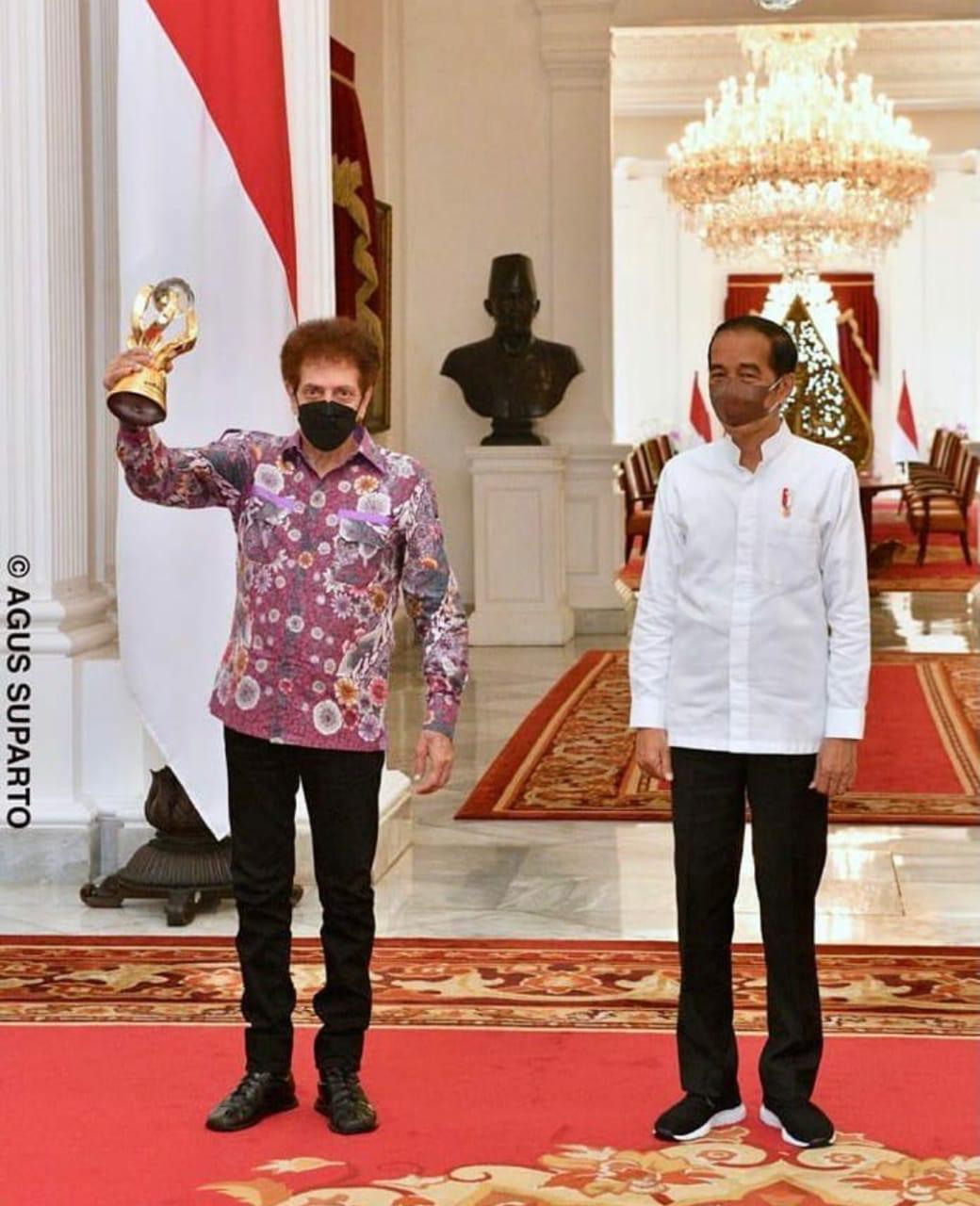 Presiden Joko Widodo (Jokowi). (Foto intstagram @jokowi)